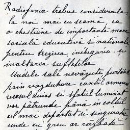 """""""Manuscris radiofonic"""". Prima ediție a emisiunii (1967)"""