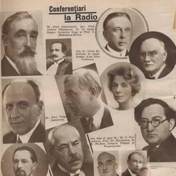 """Inaugurarea emisiunii """"Universitatea Radio"""" (3 martie 1930)"""