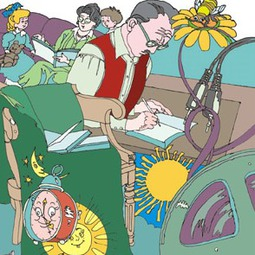 """Tudor Arghezi: """"O povestire e ca o jucărie"""""""