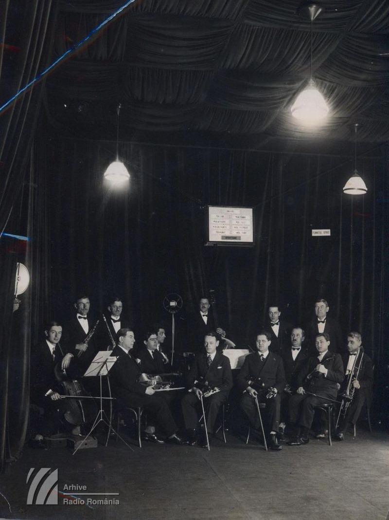 Prima orchestră a Radioului (stagiunea 1929-1930)