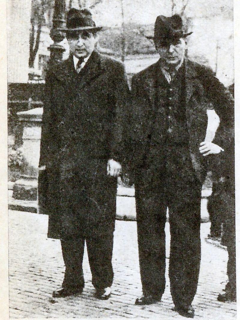 George Enescu și Alfred Alessandrescu (1939)