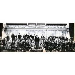 George Enescu alături de Orchestra Radio la Ateneu