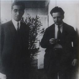 George Enescu și Mihail Jora