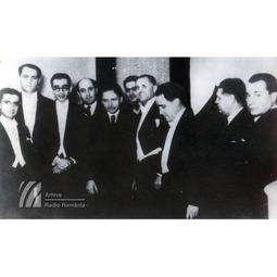 George Enescu alături de Dinu Lipatti, Constantin Silvestri și Mihail Jora
