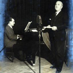 Recital al basului George Folescu. La pian: Ion Filionescu